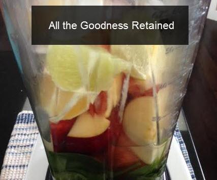 Fruit Shake in Vitamix Blender