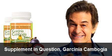 Dr Oz Promotes Garcinia Cambogia
